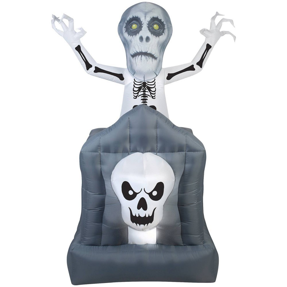 """Image of """"72"""""""" Halloween Inflatable Pop-Up Haunted Ghost"""""""