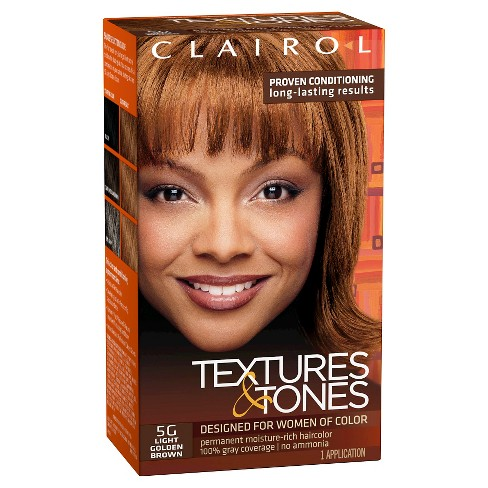 Clairol Textures and Tones Long-Lasting Hair Color - Dark Brown - image 1 of 1