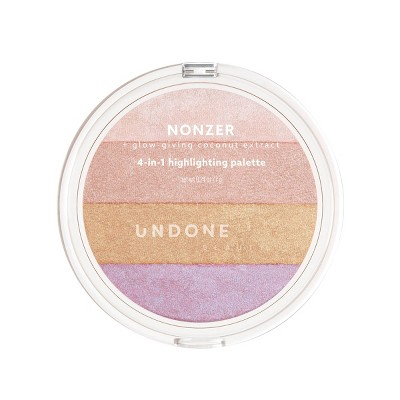 UNDONE BEAUTY Nonzer 4-in-1 Cosmetic Highlighting Palette - 0.24oz