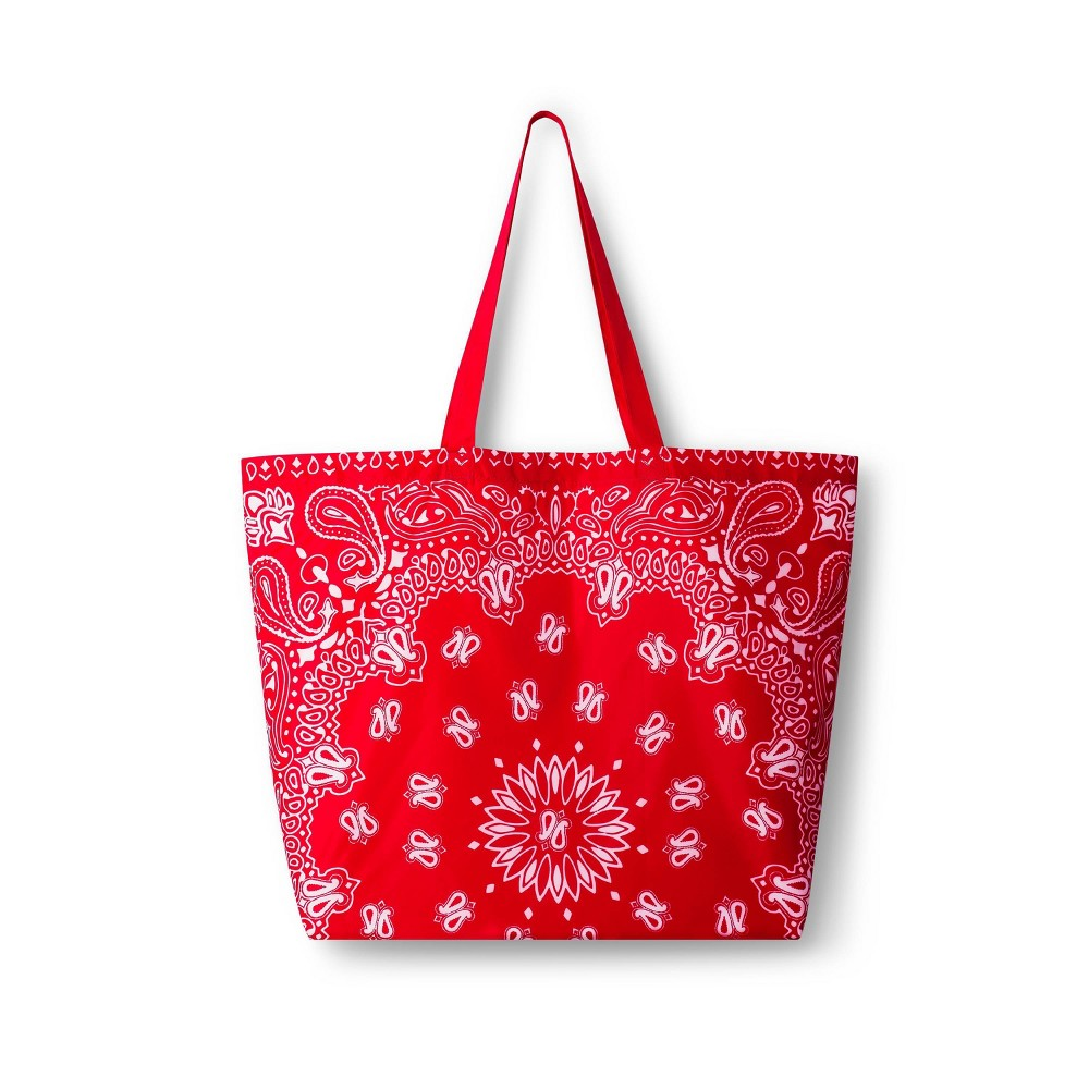 Bandana Reusable Shopping Bag Red Levi 39 S 174 X Target