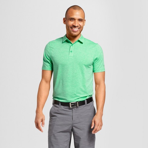 Men's Spacedye Tech Golf Polo Shirt - C9 Champion® Milkglass Green - image 1 of 2