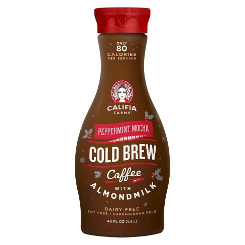 Califia Farms Peppermint Mocha Cold Brew Coffee 48 oz - image 1 of 1
