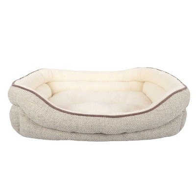 Double Bolster Dog Bed - L - Boots & Barkley™