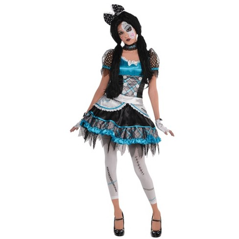 Women's Shattered Doll Halloween Costume - image 1 of 1