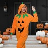 Funziez! Halloween Jack O Lantern Pumpkin Adult Unisex Novelty Union Suit - image 2 of 4