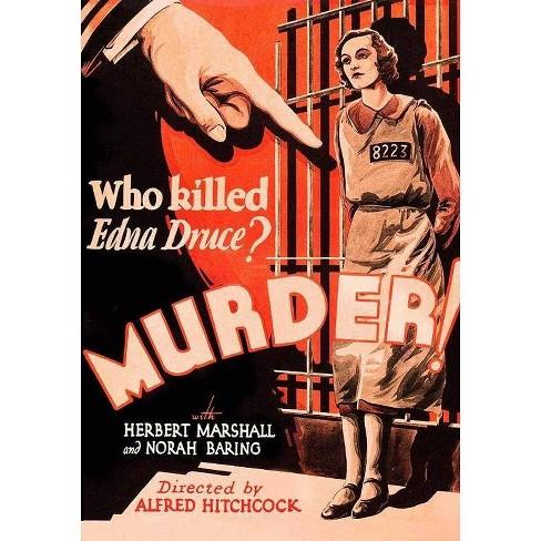 Murder! (DVD) - image 1 of 1