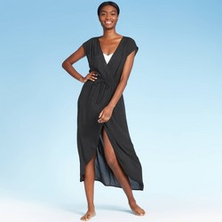Women's Maxi Cover Up Dress - Kona Sol™ Black