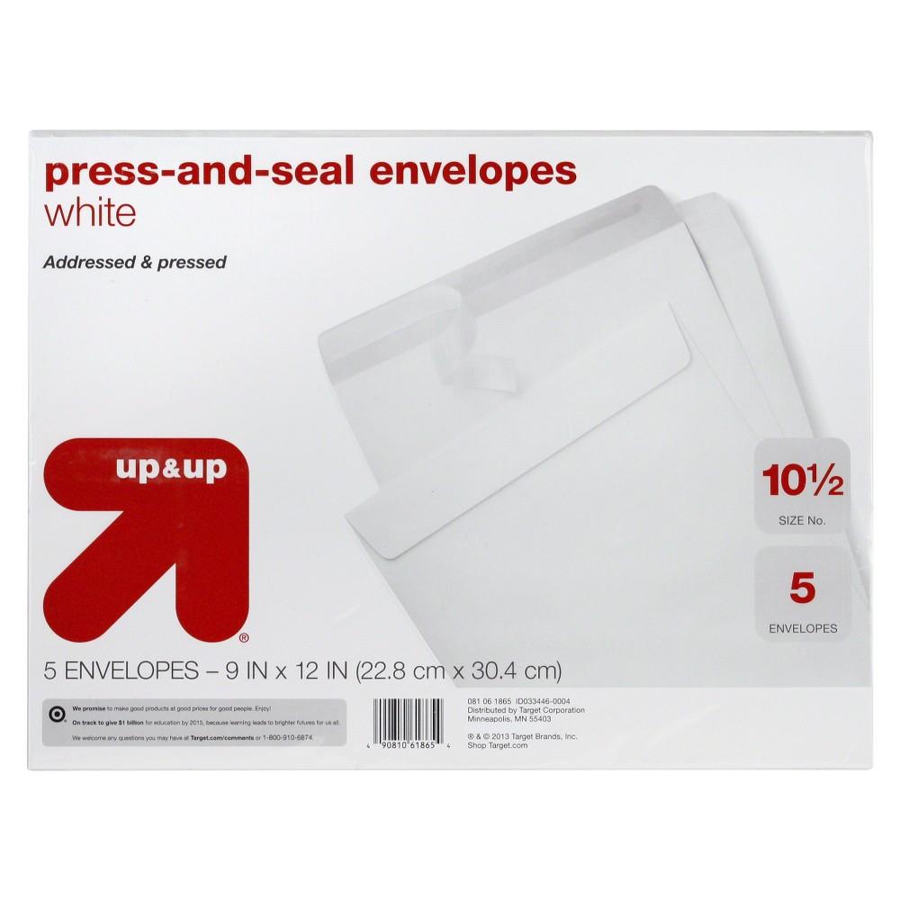 Press and Seal Envelopes 9