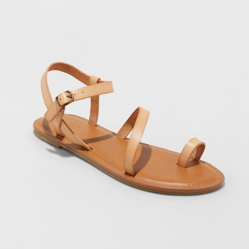 Women's Tera Naked Ankle Strappy Sandals - Universal Thread™ - image 1 of 3