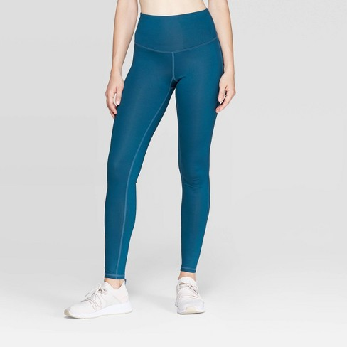 "Women's Everyday High-Waisted Shine Leggings 28.5"" - C9 Champion® - image 1 of 3"