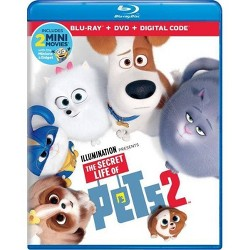 The Secret Life of Pets 2 (Blu-Ray + DVD + Digital)