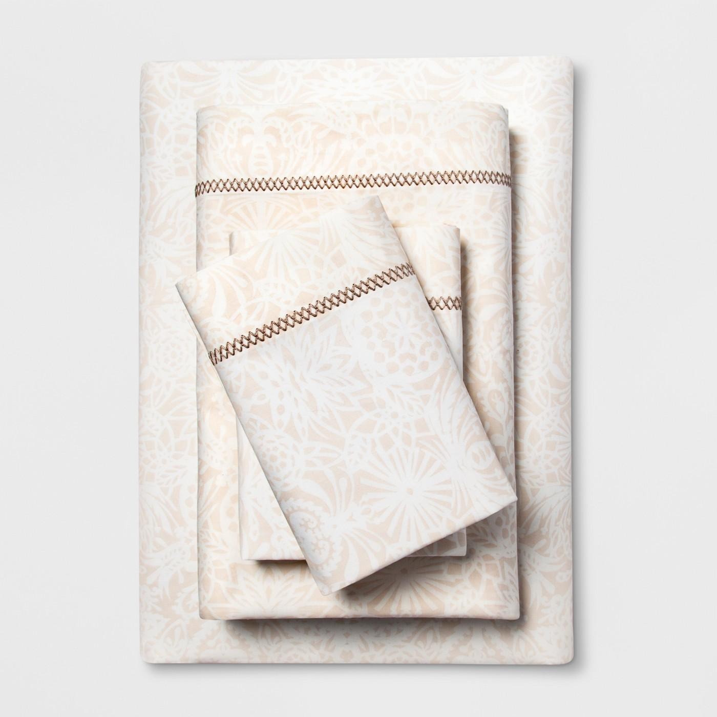 Printed Cotton Percale Sheet Set - Opalhouse