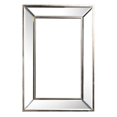 Rectangular Decorative Wall Mirror Clear - A&B Home