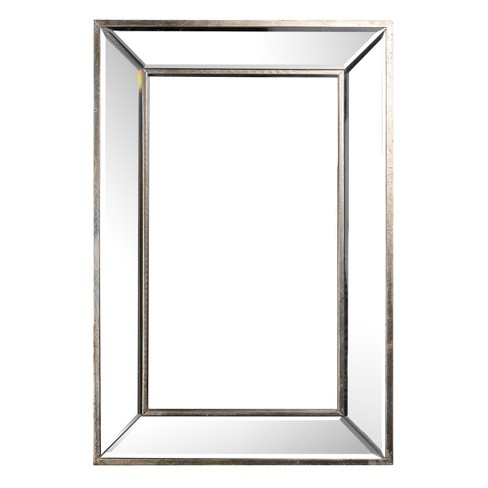 """24"""" x 16"""" Rectangle Wall Mirror Frame - A&B Home - image 1 of 4"""