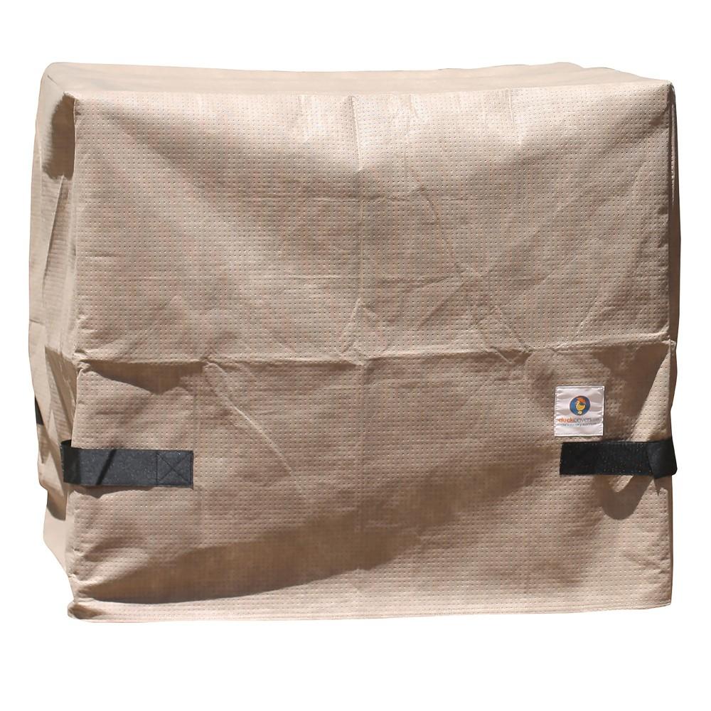 Image of 40W Elite Square Air Conditioner Cover Dark Cappuccino - Classic Accessories