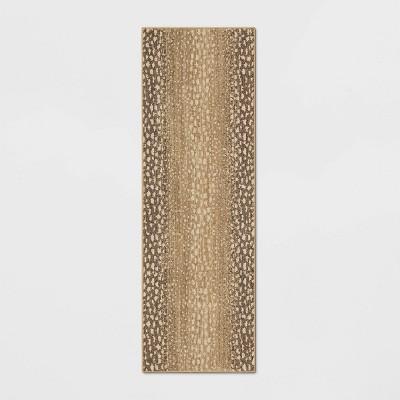 """2'3""""x7' Elderberry Snake Skin Print Woven Rug Gray - Opalhouse™"""