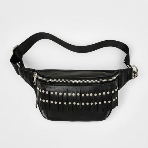 482126d972 Girls  Fanny Pack Crossbody Bag - Art Class™ Black   Target