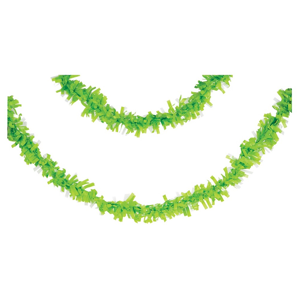 Fresh Lime Tissue Garland