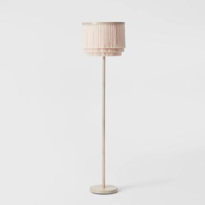 Fringe Floor Lamp Natural - Pillowfort™
