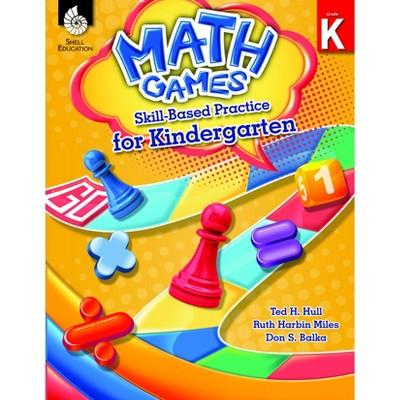 Shell Education Math Games: Skill-Based Practice, Grade K
