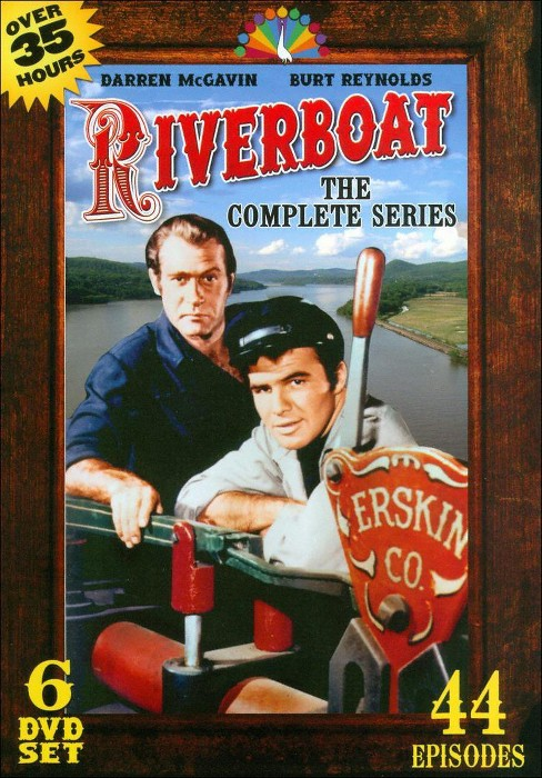 Riverboat complete series (DVD) - image 1 of 1