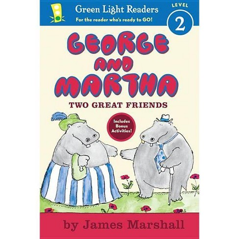 George and Martha: Two Great Friends - (George & Martha Early Readers (Green Light Readers Quality)) - image 1 of 1