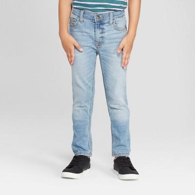 Boys' Stretch Skinny Fit Jeans - Cat & Jack™ Light Blue