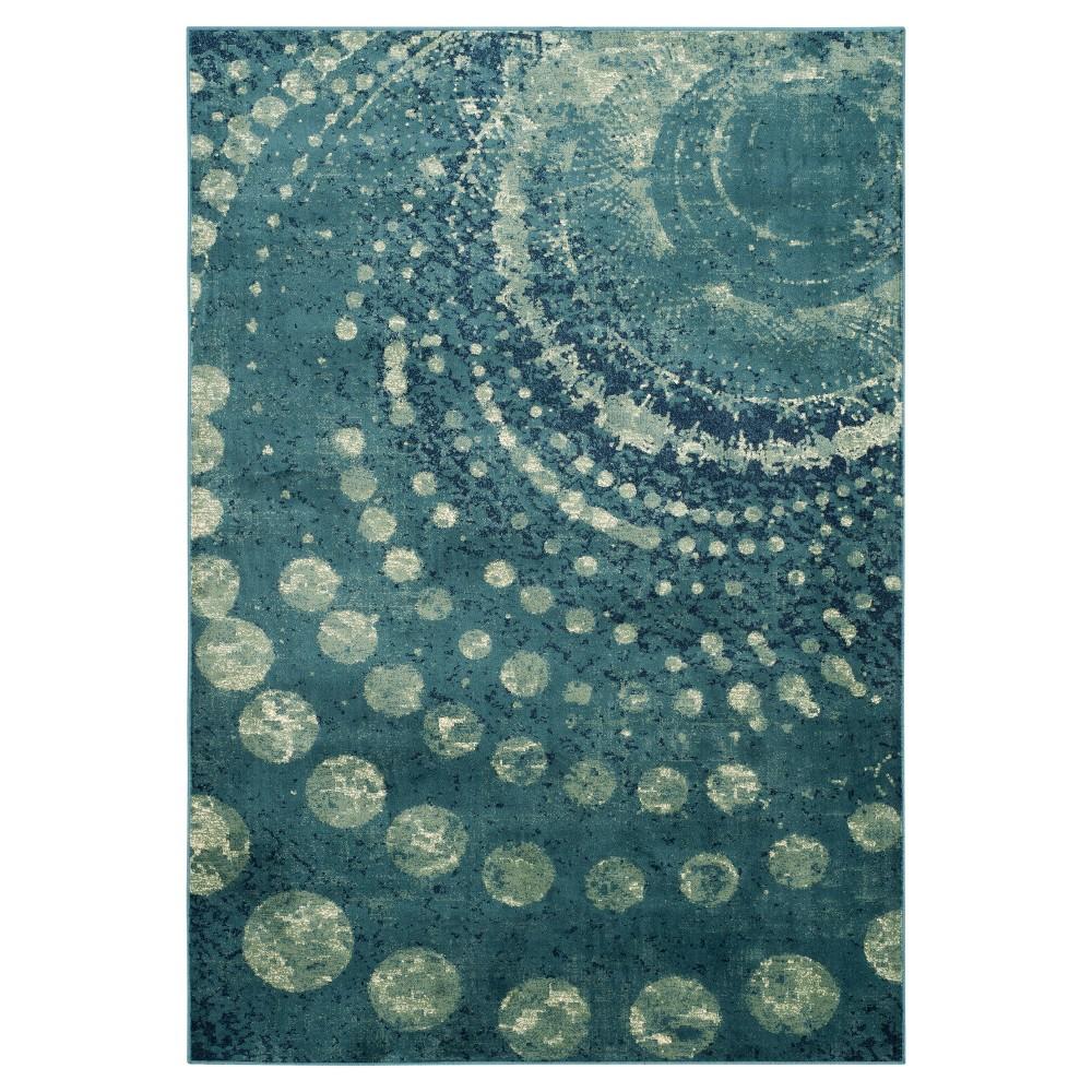 Constellation Vintage Rug - Turquoise/Multi - (5'3