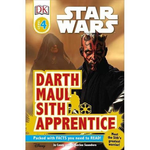 DK Readers L4: Star Wars: Darth Maul, Sith Apprentice - (DK Readers: Level 4) (Paperback) - image 1 of 1