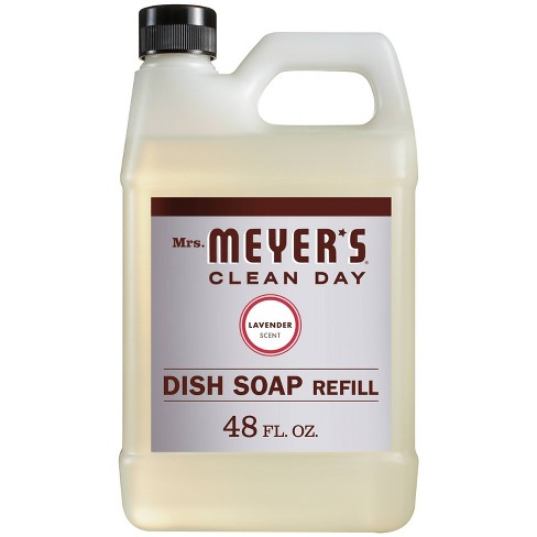 Mrs. Meyer's Lavender Liquid Dish Refill - 48 fl oz - image 1 of 3