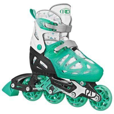Roller Derby Tracer Adjustable Kids' Inline Skate - Green