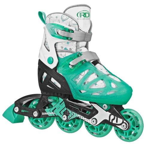 Roller Derby Tracer Adjustable Kids' Inline Skate - Green - image 1 of 4