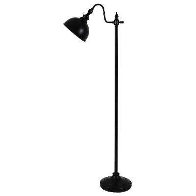 "56"" Chloe Pharmacy Floor Lamp Black - Decor Therapy"
