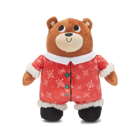 Bark Fleece Navidad Bear Dog Toy - image 1 of 4