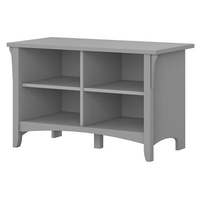 Salinas Shoe Storage Bench Gray - Bush Furniture