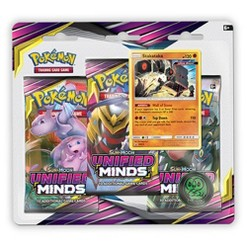 Pokémon Trading Card Game Sun & Moon S11 3 Pack Blister featuring Stakataka