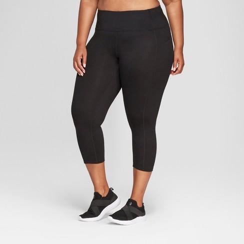 937f710dab714 Women's Plus Size Everyday Mid-Rise Capri Leggings 20