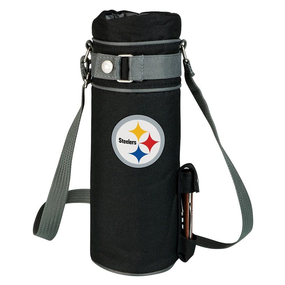 Pittsburgh Steelers - Wine Sack Beverage Tote by Picnic Time (Black)