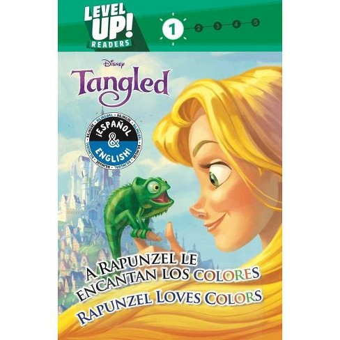Rapunzel Loves Colors / A Rapunzel Le Encantan Los Colores (English-Spanish) (Disney Tangled) (Level Up! Readers), Volume 34 - (Disney Bilingual) - image 1 of 1