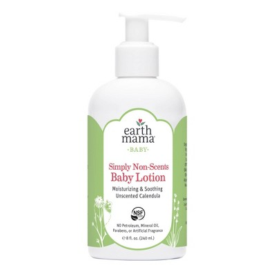 Earth Mama Natural Non-Scents Baby Lotion - 8oz
