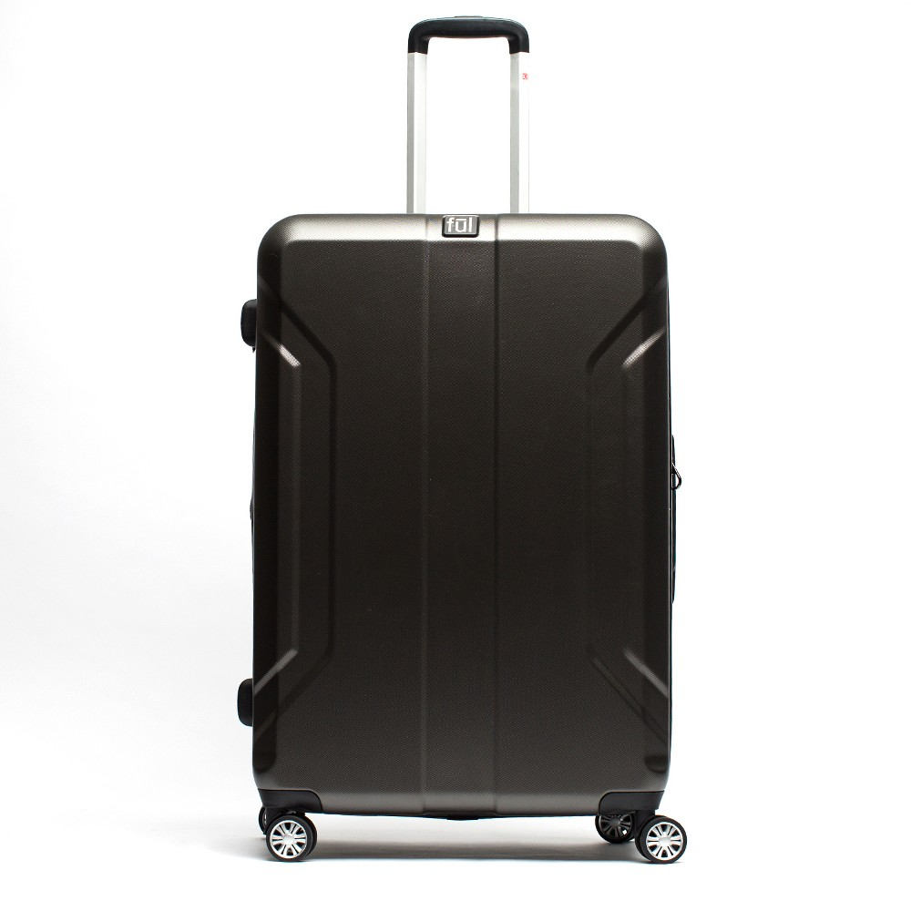 Ful 21 Payload Hardside Spinner Suitcase - Charcoal, Almost Black