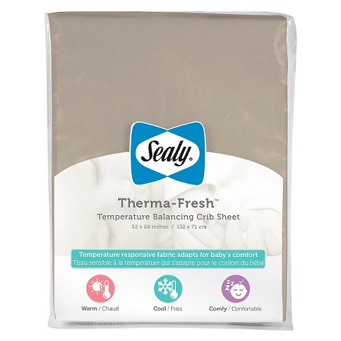 Sealy Therma-Fresh Cooling Crib Sheet - image 1 of 2