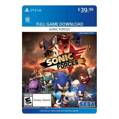 Sonic Forces - PlayStation 4 (Digital)