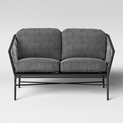 Standish Patio Loveseat - Gray - Project 62 : Target