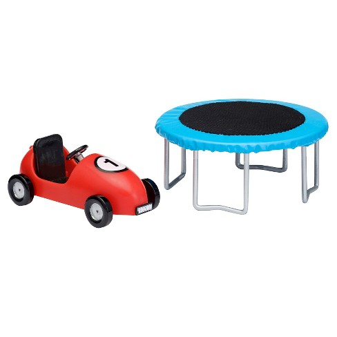 Lundby Trampoline and Coaster car - image 1 of 1