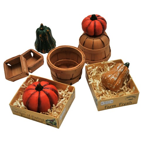 The Queen's Treasures® Doll Farm Fresh Fall Vegetables Accessory Set - image 1 of 6