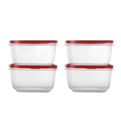 Rubbermaid 4pk 14 cup Easy Find Lids Food Storage Container Set