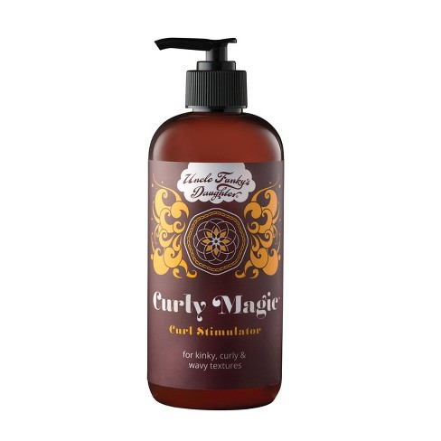 Uncle Funky's Daughter Curly Magic Curl Stimulator - 12oz - image 1 of 4