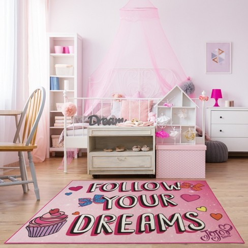 Nickelodeon Jojo Siwa 5 X7 Follow Your Dreams Rug Target