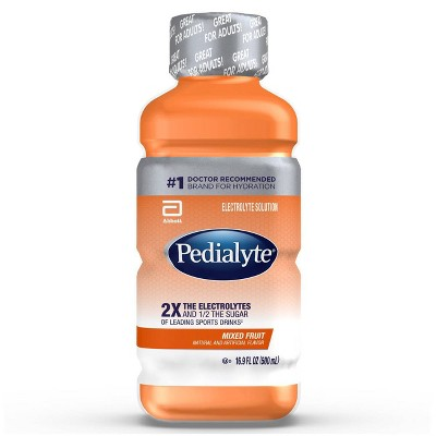 Pedialyte Electrolyte Solution - Mixed Fruit - 16.9 fl oz